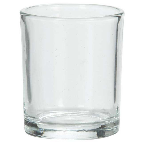 Clear Glass Votive Holder - Dallas Soap Company