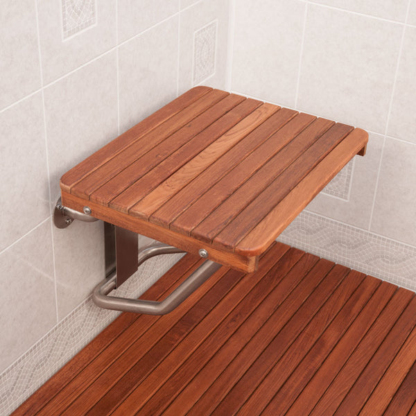 Wall Mounted Teak ADA Shower Seats