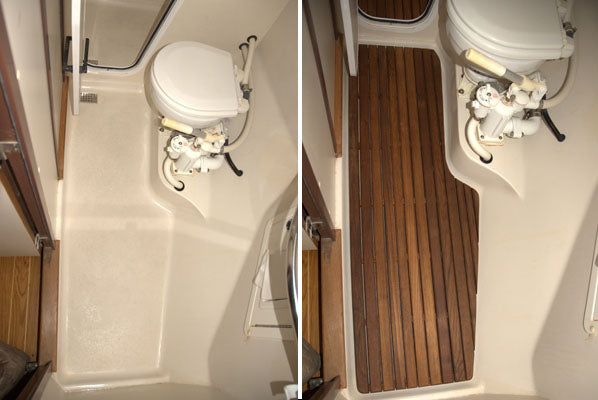 Before & After Boat Head