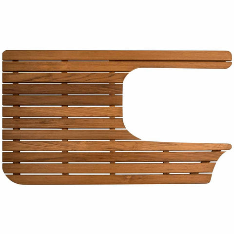 Teak Mat for Airstream Bambi Sport by Teakworks4u