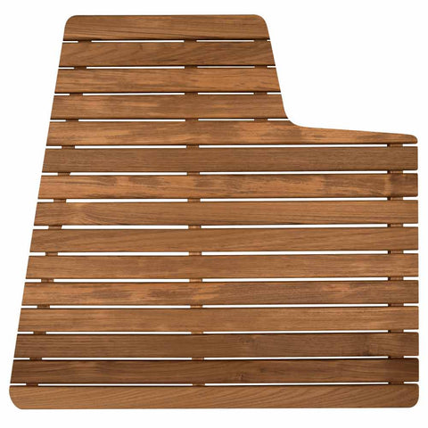 Teak Shower Mat for Airstream Grand Tour