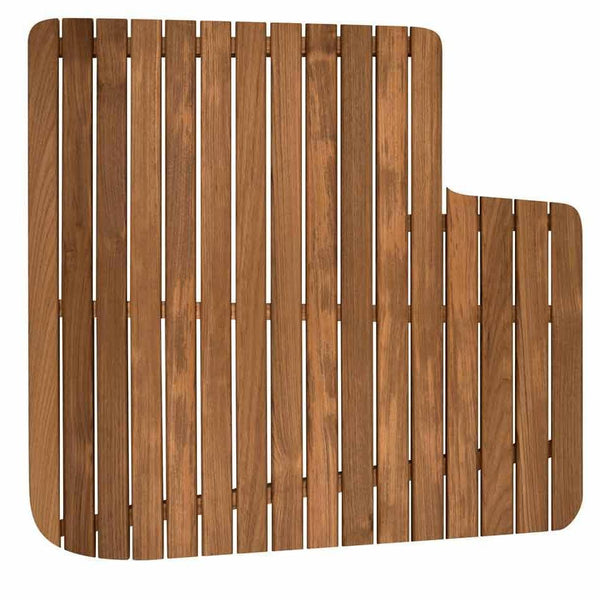 Teak Shower Mat for Airstream Interstate Lounge