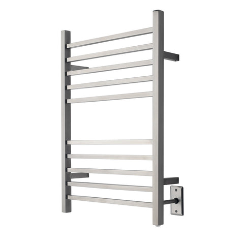 Amba Radiant Square Towel Warmer from Teakworks4u - Hardwired model