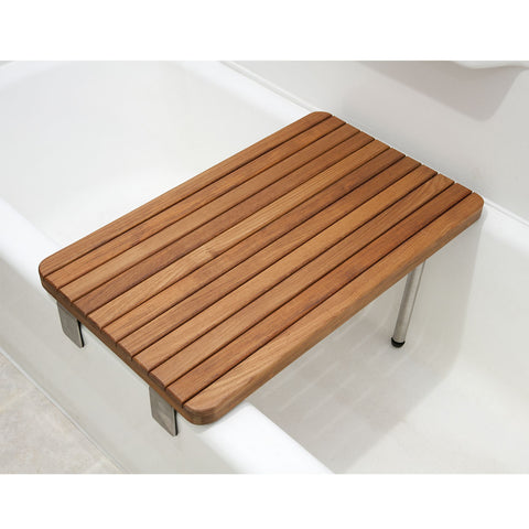 Teak Seat for Bathtubs - ADA Compliant