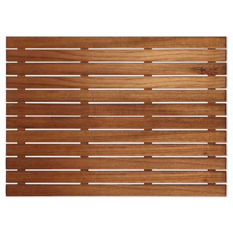 "25"" x 18"" Teak Bath or Shower Mat"