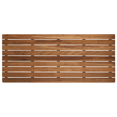 "32"" x 14"" Teak Bath or Shower Mat (Oiled)"