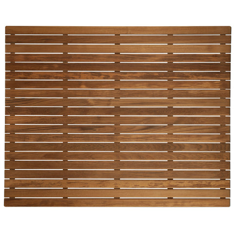 "36"" x 30"" Teak Bath or Shower Mat (Oiled)"