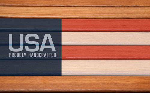 Teakworks4u products are handcrafted in the United States