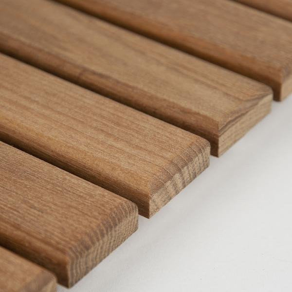 "Edges have a 1/4"" round-over and are hand sanded for a smooth finish"