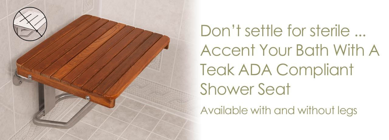 Teak Mats for In-Shower Use