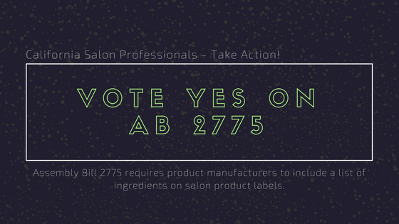 Vote Yes On AB 2775