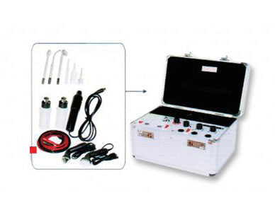 4 IN 1 MULTIFUNCTION FACIAL UNIT HIGH FREQUENCY + VACUUM/SPRAY + ULTRA SONIC
