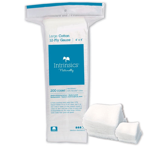 Intrinsics 4x4 Cotton Gauze 200ct