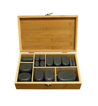 60 PIECE KIT BASALT LAVA HOT STONE MASSAGE - TopSpaSupply.com