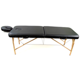 Lightweight Massage Bed w/ Wooden Legs