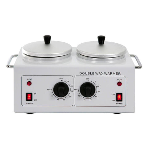 DOUBLE WAX WARMER Fits 14oz Cans on Both Sides - TopSpaSupply.com