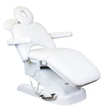 Adjustable Electric Massage Table - White Color