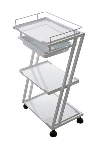 3 Level Plastic Spa Trolley Cart
