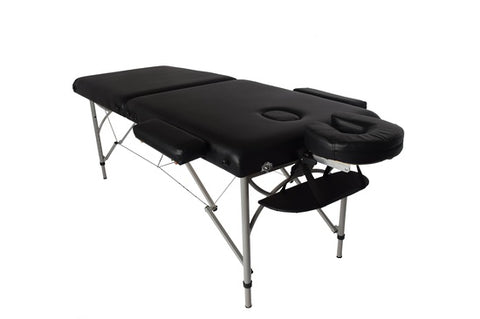 Portable Aluminum Massage Bed with Head Rest