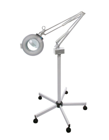 Round Magnifying Lamp with Base