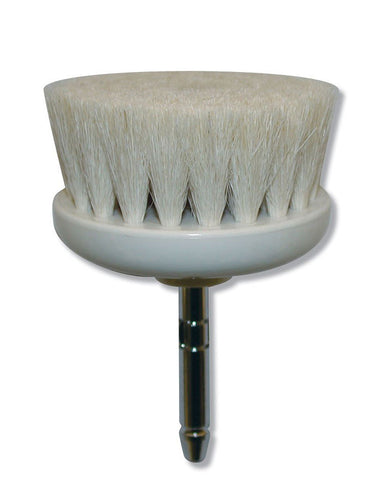 This facial brush is to be used with Spa Brush Gun Brush #1