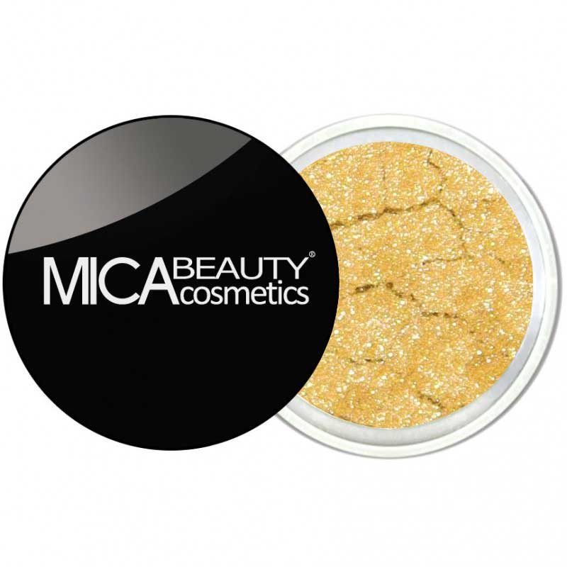 MicaBeauty Gold Rush Mineral Eye Shadow