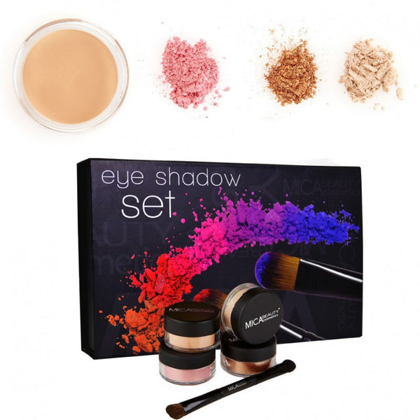Micabeauty - Brown Mineral Eye Shadow Kit