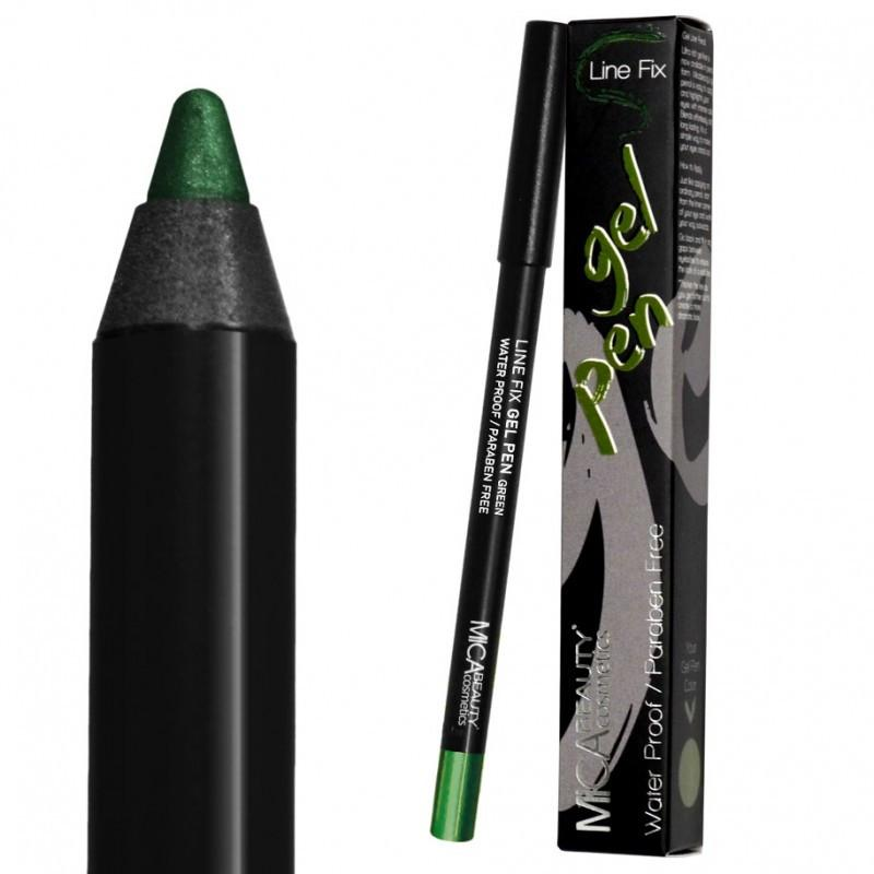 Micabeauty Green Gel Eyeliner Pencil