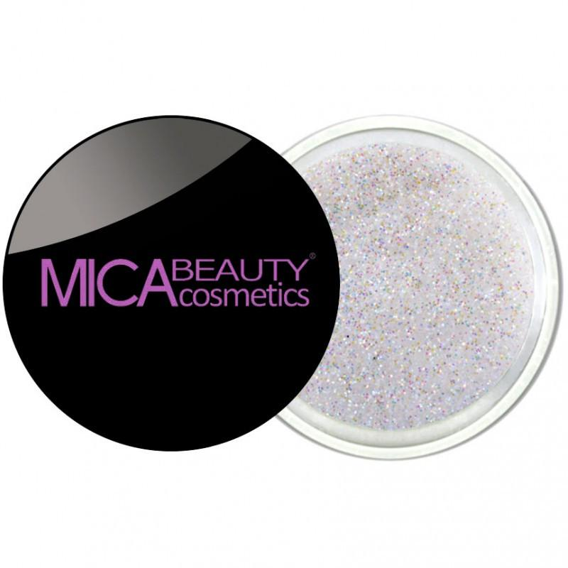 Micabeauty White Glitter Powder