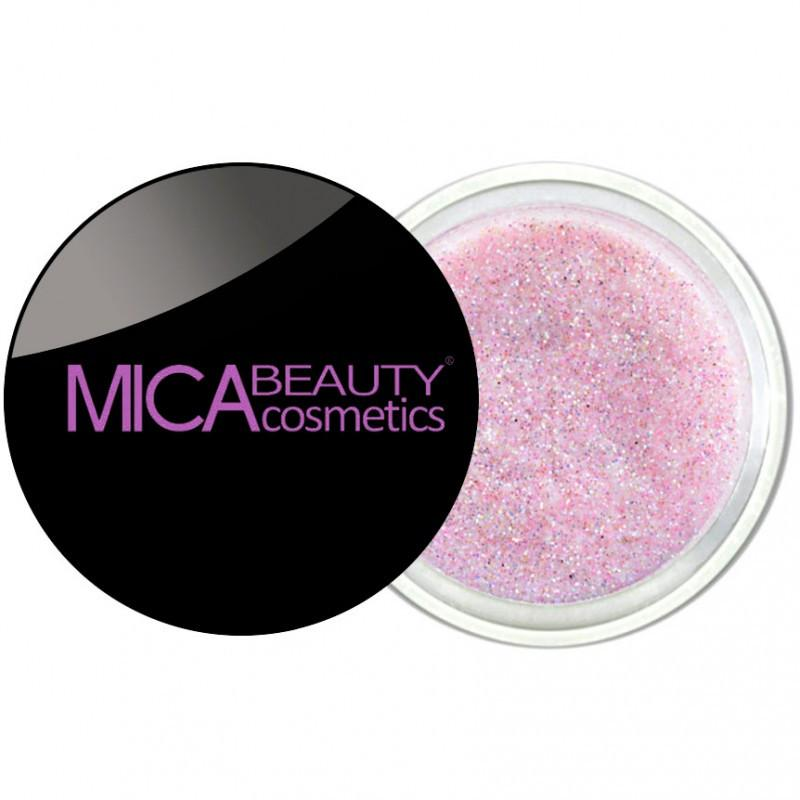 Micabeauty Pink Glitter Powder