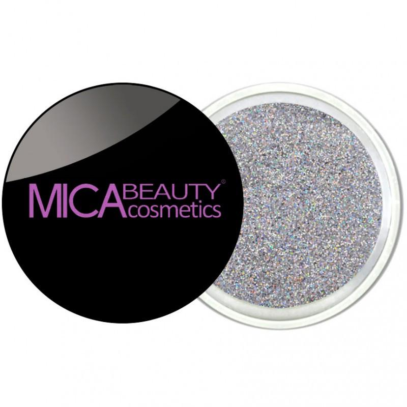 Micabeauty Silver Glitter Powder