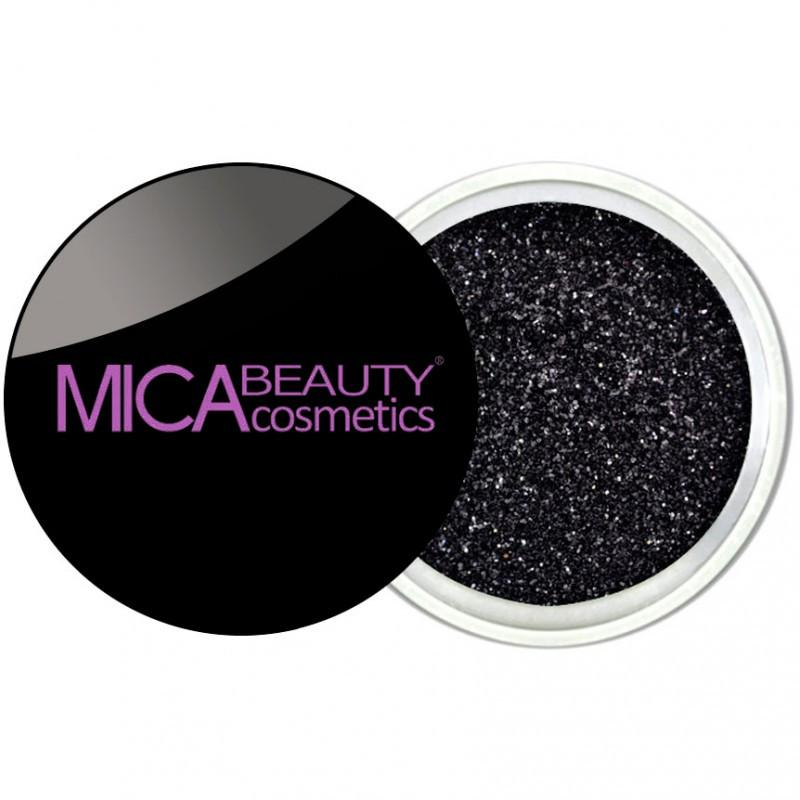 Micabeauty Black Glitter Powder