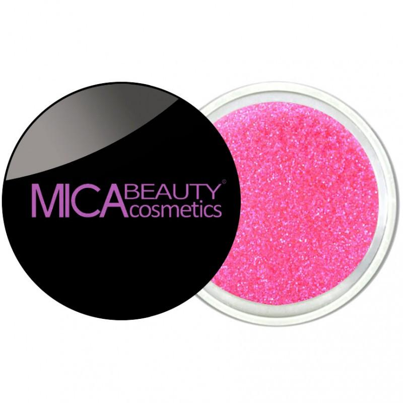 Micabeauty Hot Pink Glitter Powder