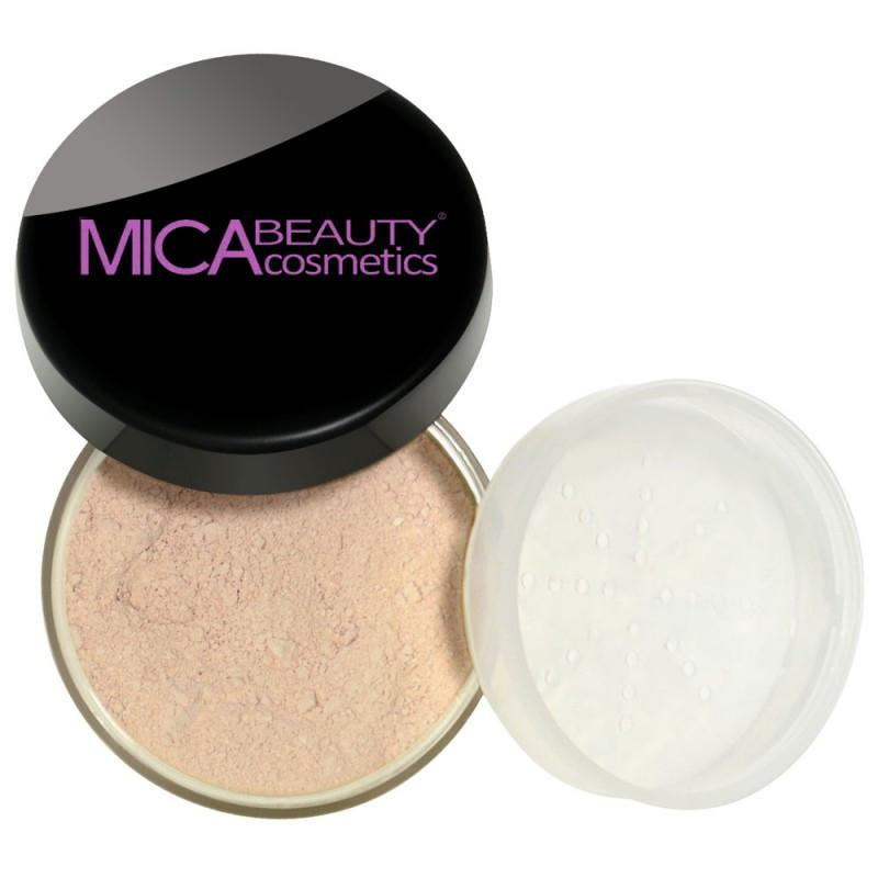 Kabuki Makeup Kit Porcelain Mineral Foundation Powder