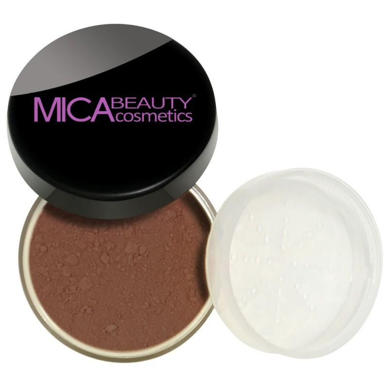 Micabeauty Downtown Brown Mineral Foundation Powder