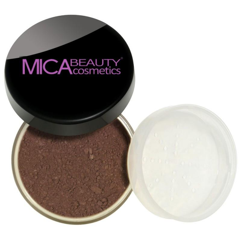 Kabuki Makeup Kit Brown Points Mineral Foundation Powder