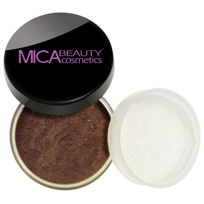 Kabuki Makeup Kit Mocha Mineral Foundation Powder