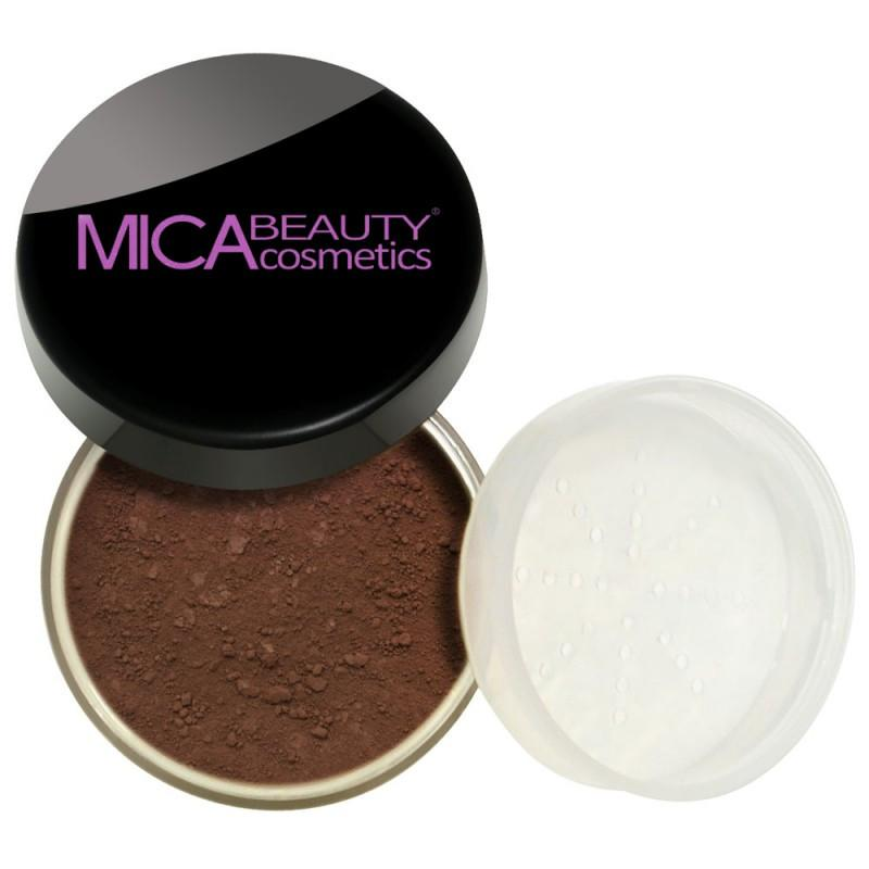Kabuki Makeup Kit Cocoa Mineral Foundation Powder