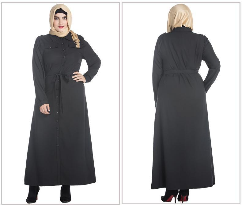 Xl 7xl Muslim Abaya Dress Turkish Neelova