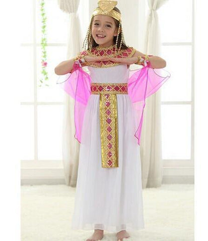 Egyptian dress egyptian costume Christmas clothes children costumes for girls princess costumes chiffon dress novelty cosplay