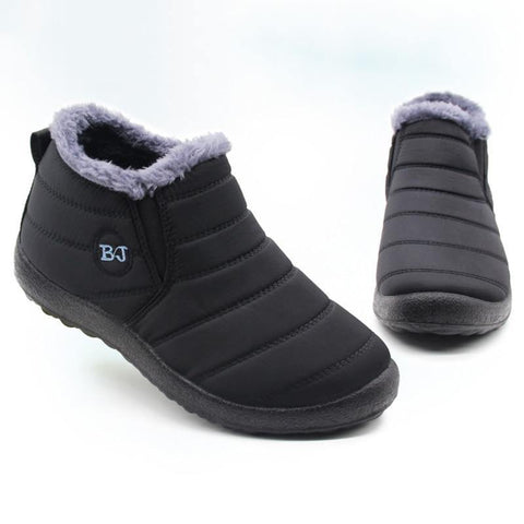 Lightweight Winter Shoes For Men Snow Boots Waterproof Winter Footwear