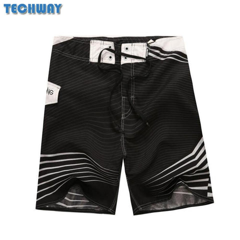 Mens Shorts Surf Board Shorts Summer Sport Beach Bermuda Short Pants Quick Dry Silver Boardshorts