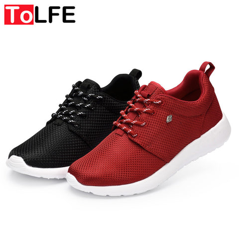 Men Light Running Shoes For Couple Breathable Adults Lovers Women Sports Sneakers Outdoor Free Run Shoes Black