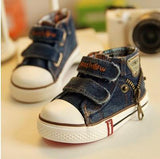 Canvas Children Shoes Boys Sneakers Brand Kids Shoes for Girls Baby Jeans Denim Flat Boots