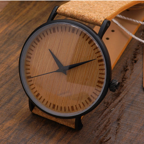 Bobobird Luxury Quartz Watches Top Brand Design Watch With Wood Watch Face and Leather Straps in Gift Package