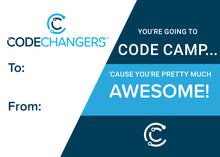 Load image into Gallery viewer, CodeChangers Gift Certificate