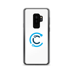 CodeChangers Samsung Case (White with Logo)