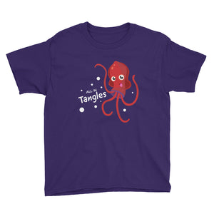 All in Tangles Youth Short Sleeve T-Shirt