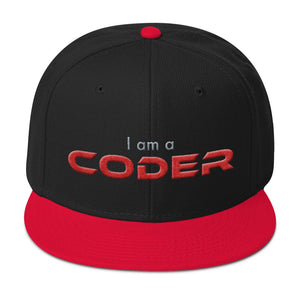 I am a Coder Snapback Hat