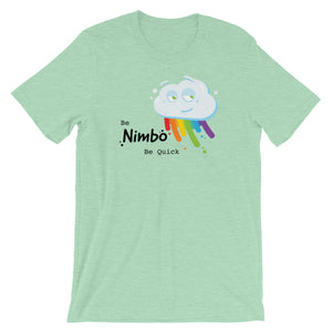 Be Nimbo Be Quick Short-Sleeve Unisex T-Shirt